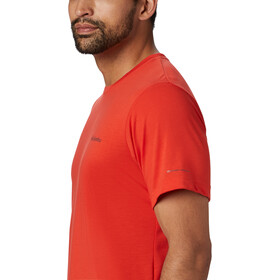 Columbia Maxtrail Logo Short Sleeve Tee Men wildfire